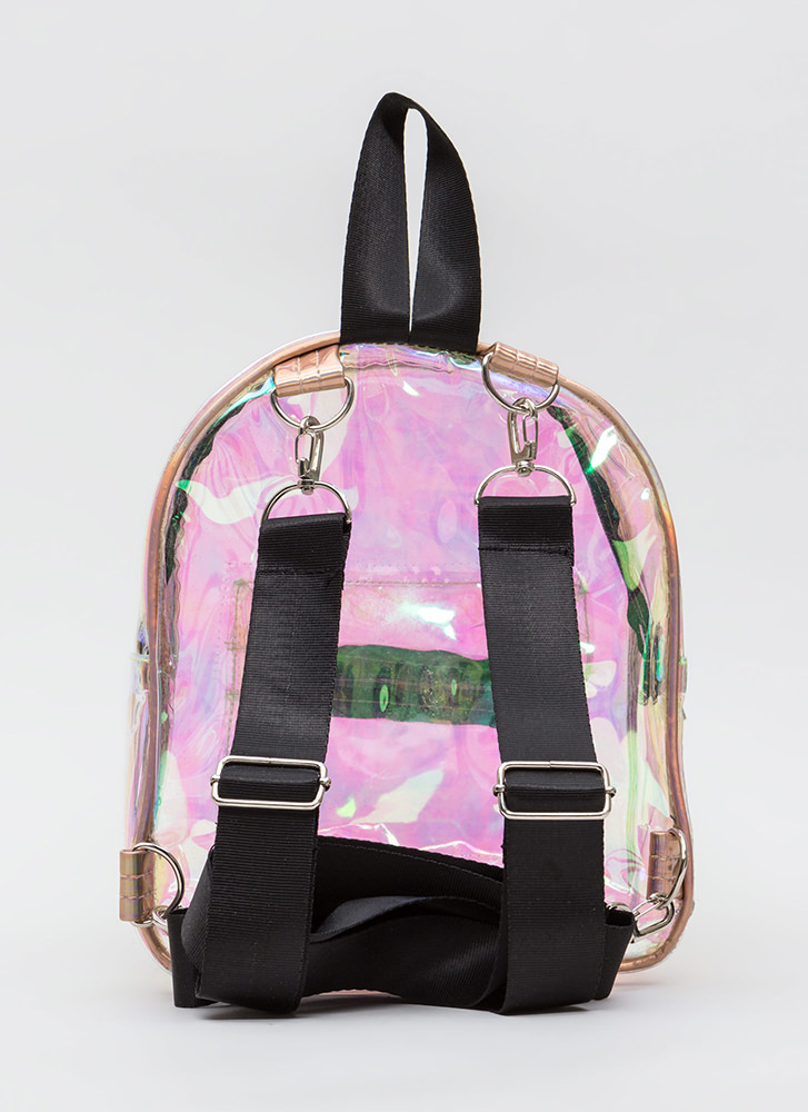 Clear And Present Mini Backpack MULTI