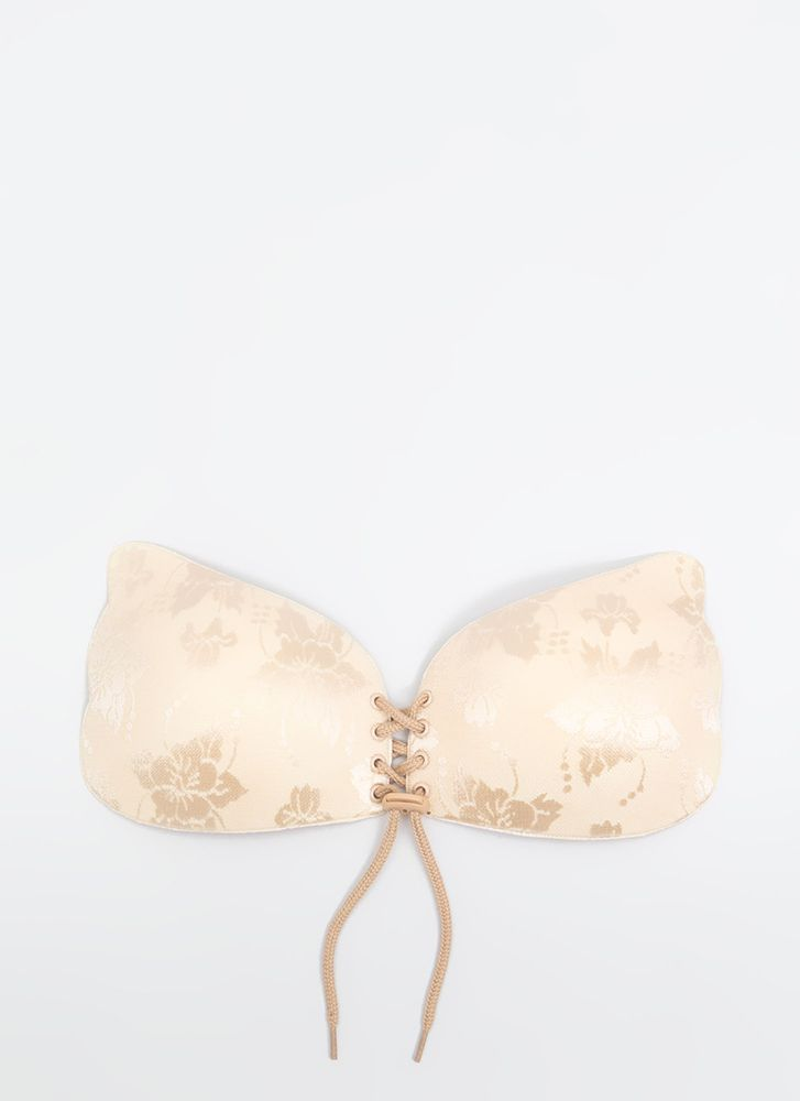 Wing It Invisible Double Push-Up Bra NUDE (Final Sale)