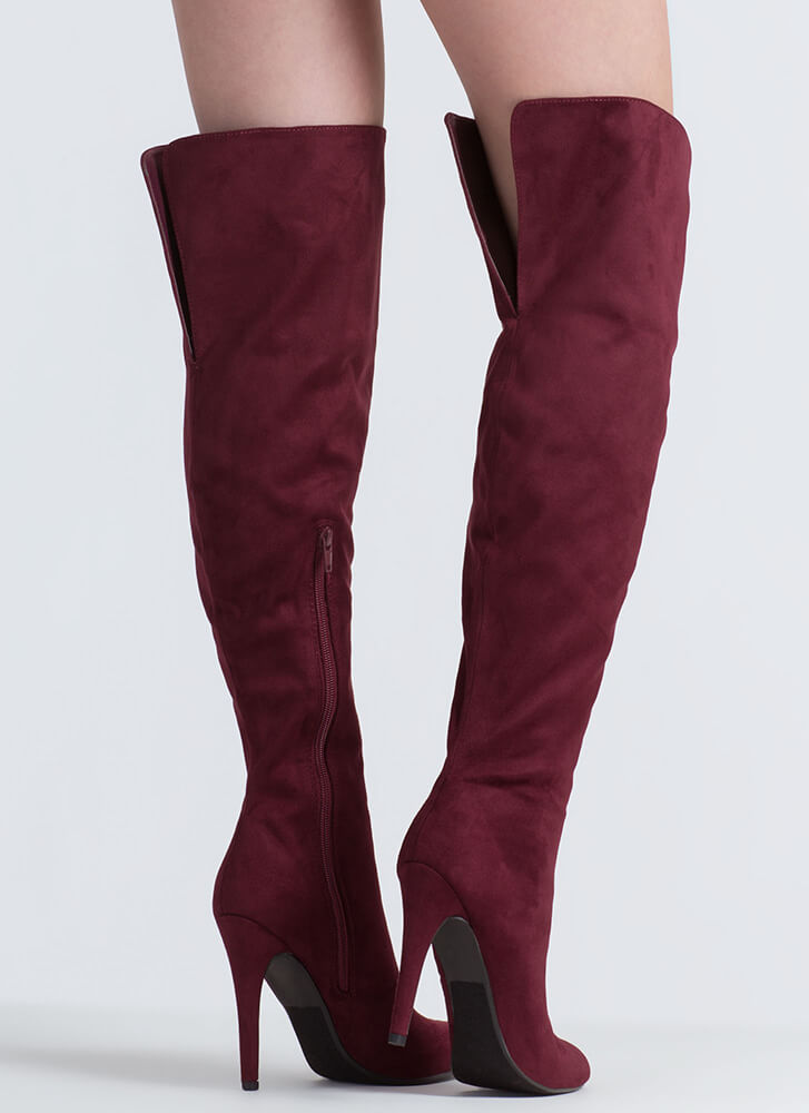 Take It From The Top Over-The-Knee Boots VINO