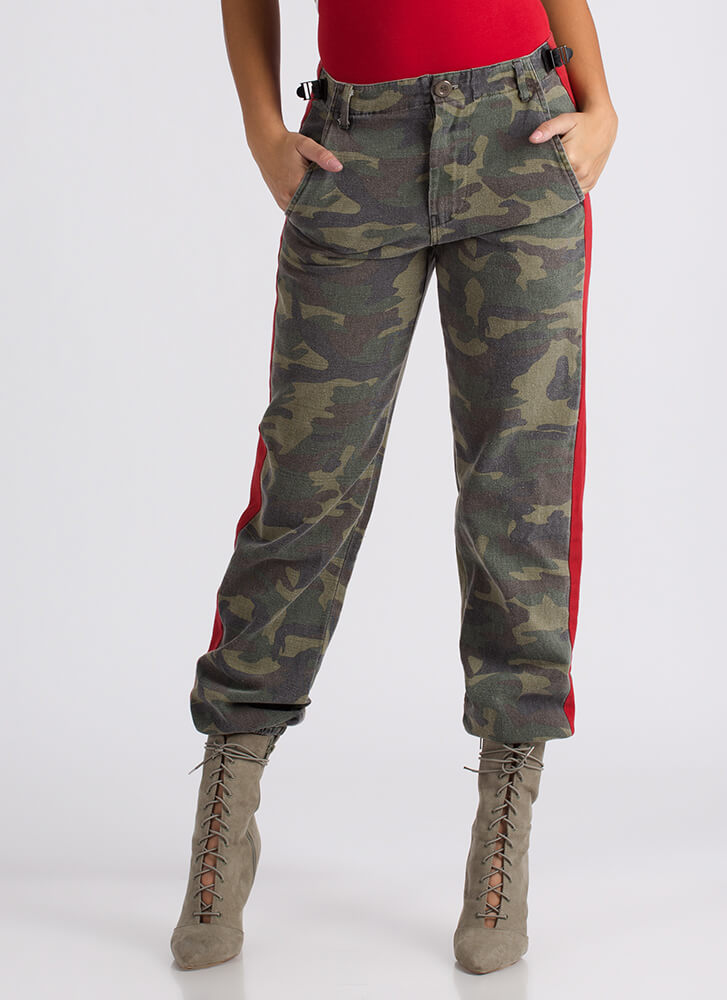 It's In The Baggy Camo Denim Joggers CAMOUFLAGE