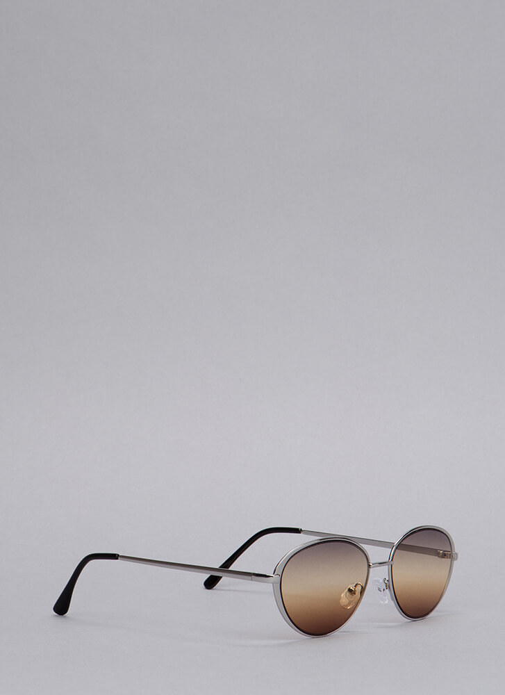 Sunset Vista Colored Sunglasses BROWN (You Saved $5)