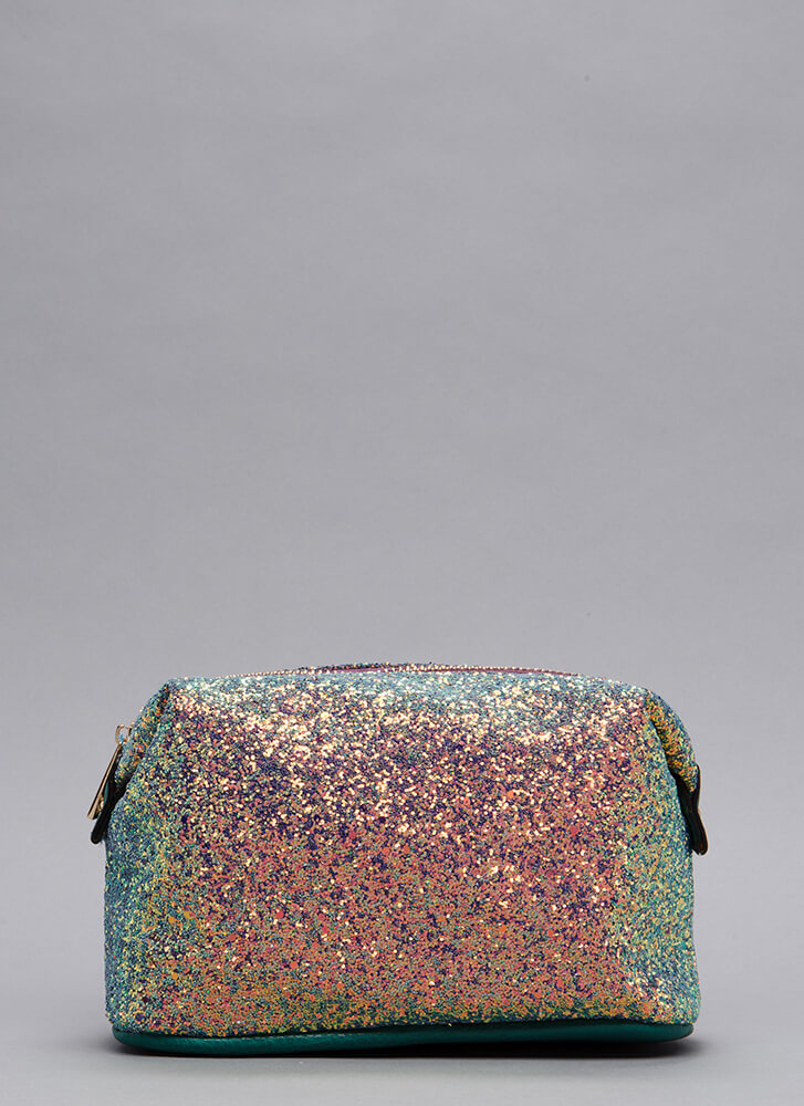 Only Shine Glittery Makeup Pouch MULTI