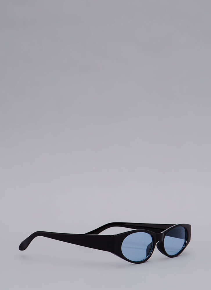 See To It Slim Sunglasses BLUE