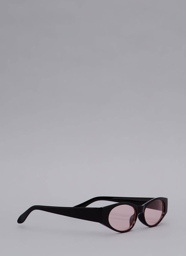 See To It Slim Sunglasses PINK (You Saved $4)