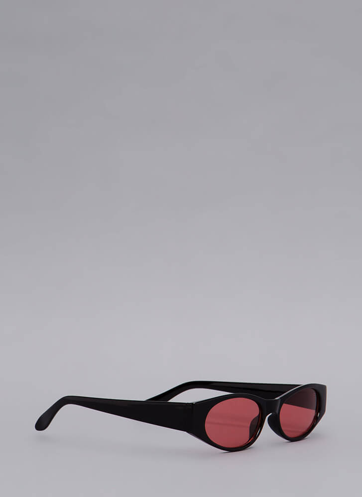 See To It Slim Sunglasses RED