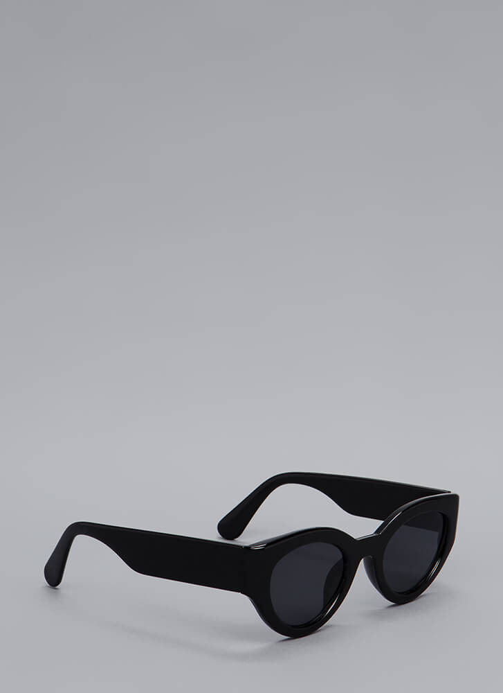 Thick As Thieves Solid Frame Sunglasses BLACK