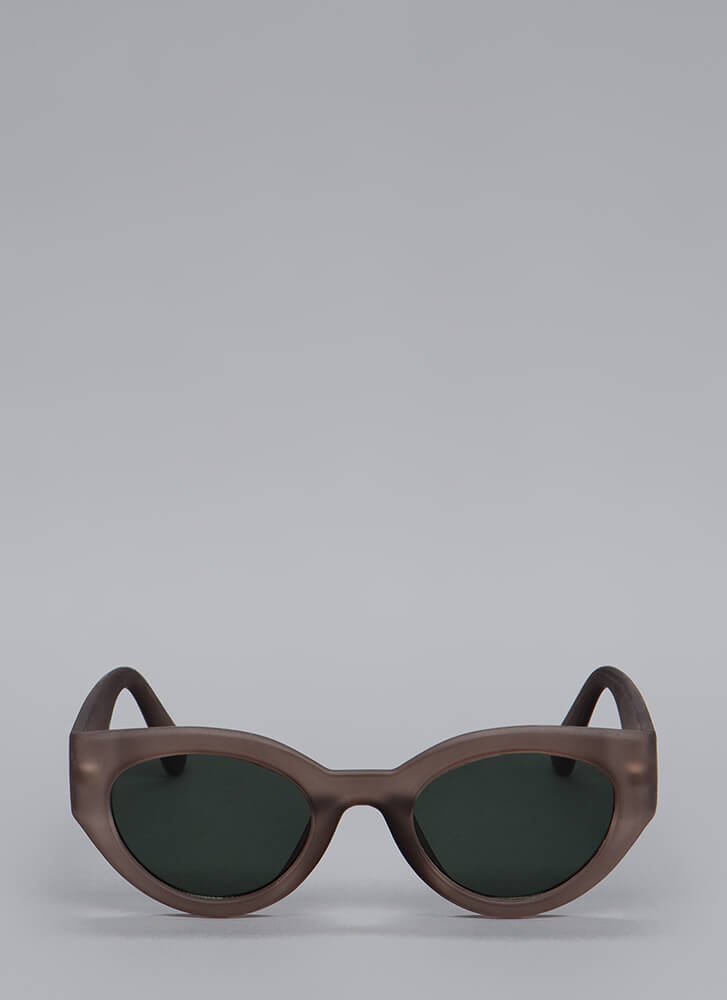 Thick As Thieves Solid Frame Sunglasses GREY
