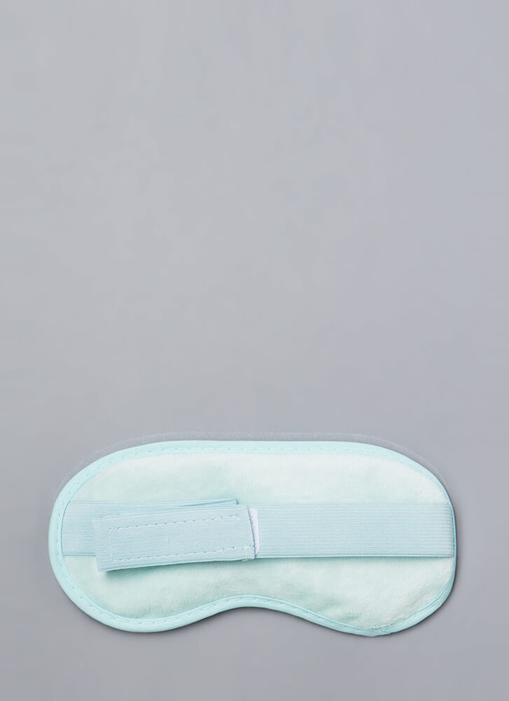 At-Home Spa Gel Beads Eye Mask BLUE (Final Sale)