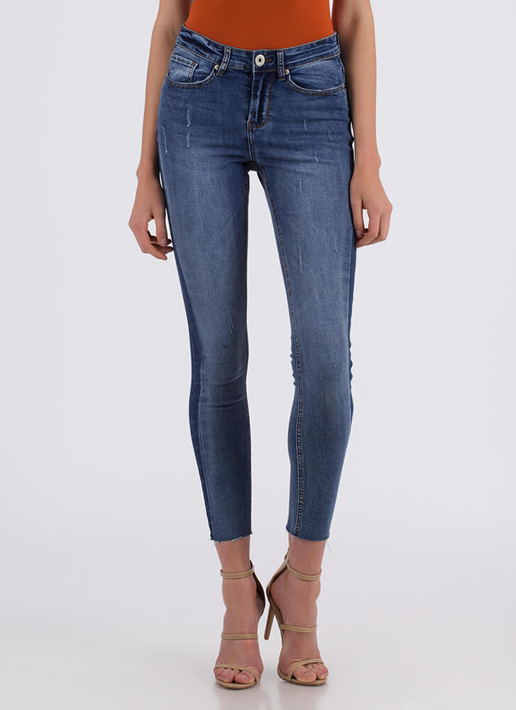 Seams About Right Skinny Jeans BLUE
