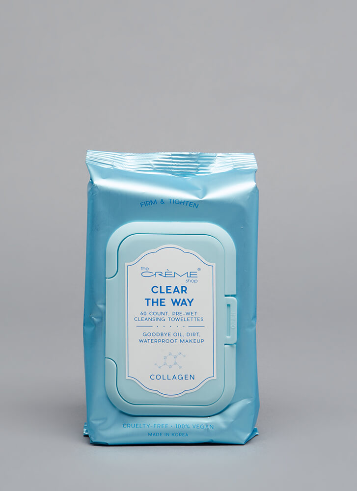 Clear The Way Makeup Removal Wipes COLLAGEN (You Saved $4)