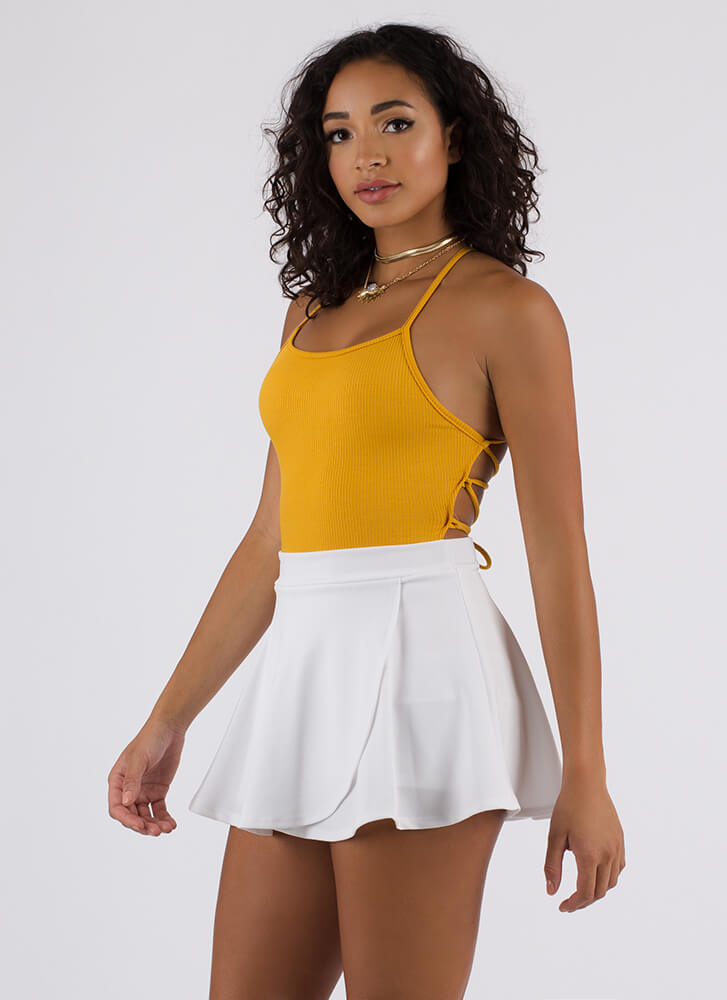 In The Way You Move Skater Skort WHITE