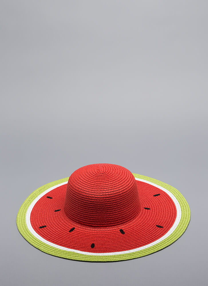 Seeds The Day Watermelon Sun Hat PINK