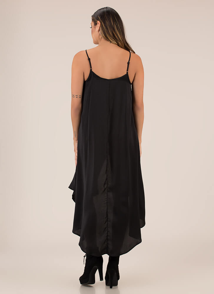 Extreme Measures High-Low Tank Top BLACK