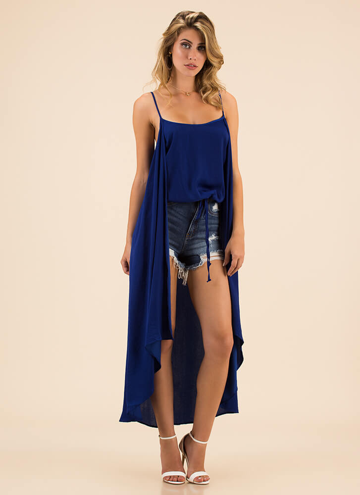 Extreme Measures High-Low Tank Top ROYAL