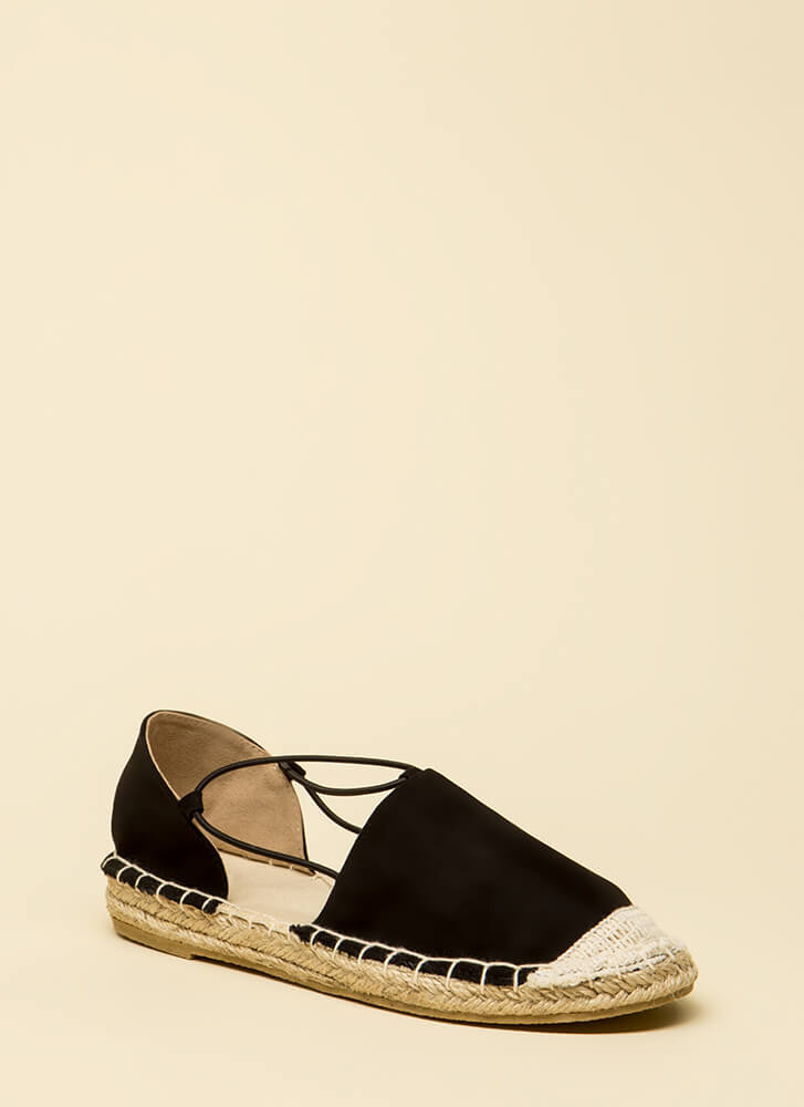 The Journey Starts Here Moccasin Flats BLACK