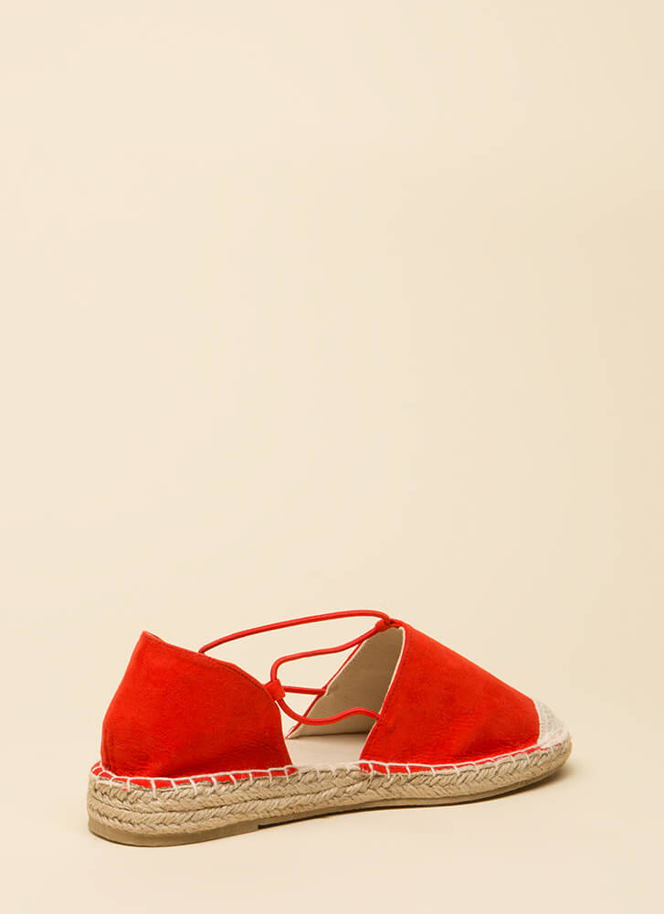 The Journey Starts Here Moccasin Flats BLOODORANGE