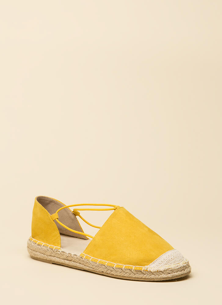 The Journey Starts Here Moccasin Flats YELLOW