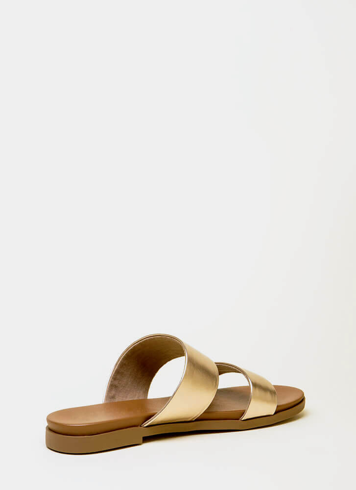 Take The Easy Way Out Slide Sandals PENNY