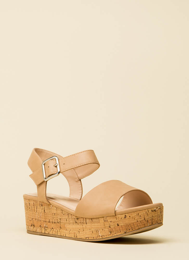 No Day But Today Platform Wedges DKSAND