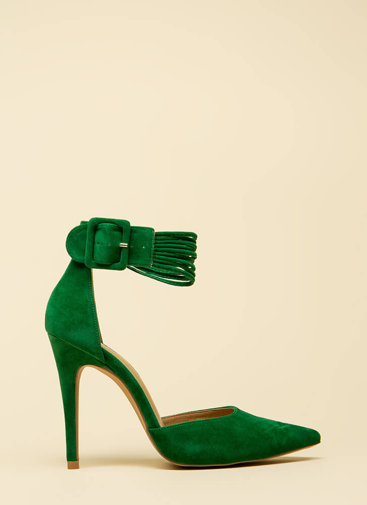 Hit The Right Cords Pointy Heels JADE