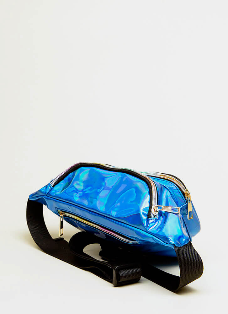Hands-Off Approach Fanny Pack BLUE