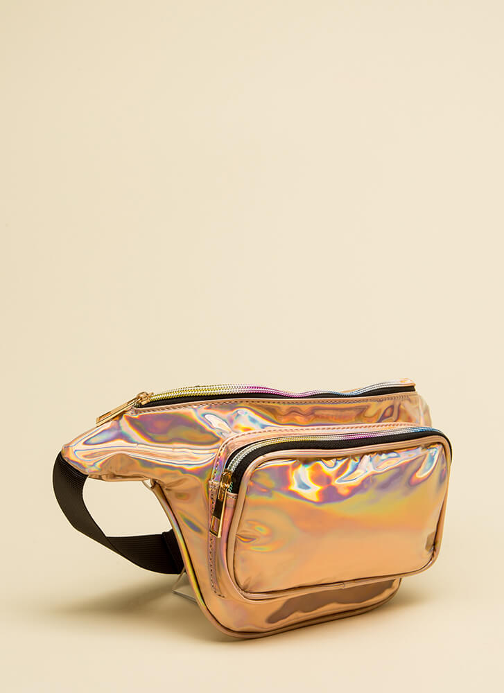 Hands-Off Approach Fanny Pack GOLD