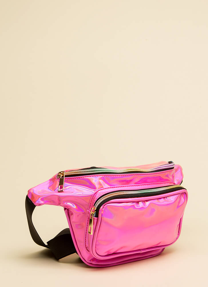 Hands-Off Approach Fanny Pack PINK
