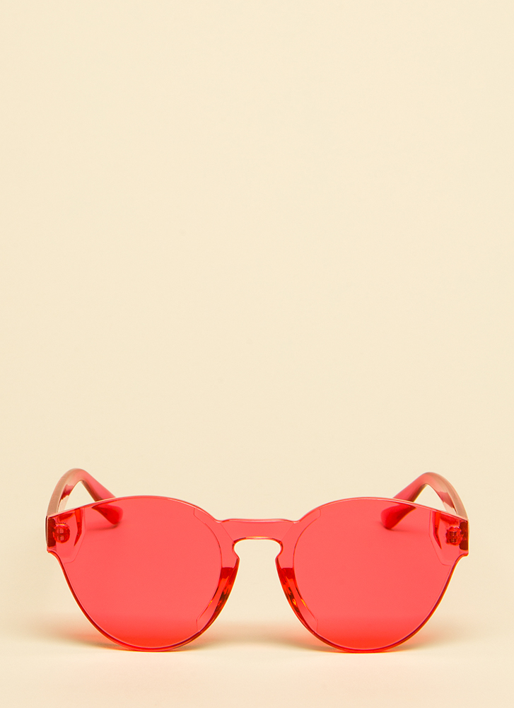 Have Some Fun Frameless Sunglasses PINK