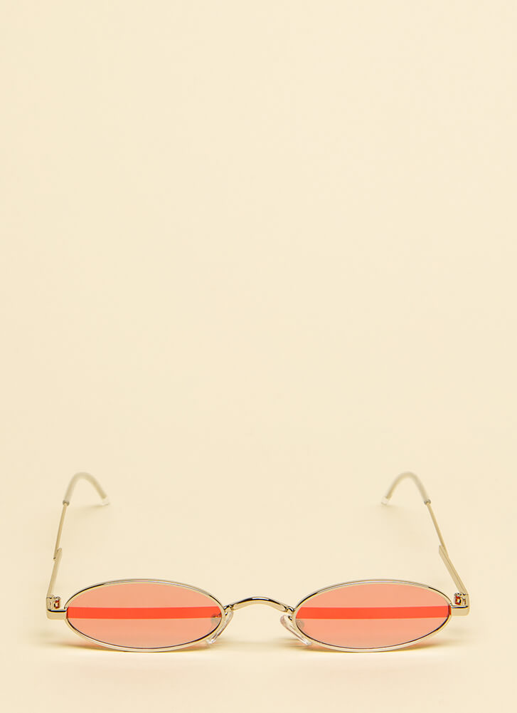Little Do You Know Small Sunglasses RED