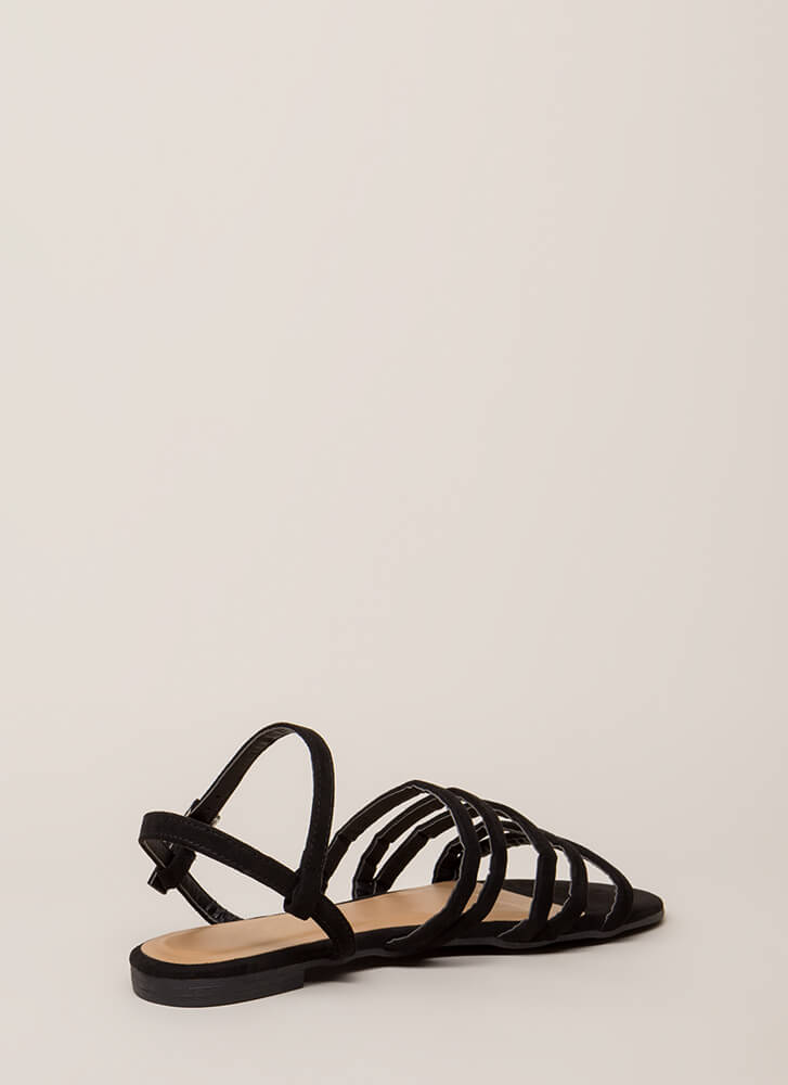 The Pursuit Of Strappy-ness Sandals BLACK