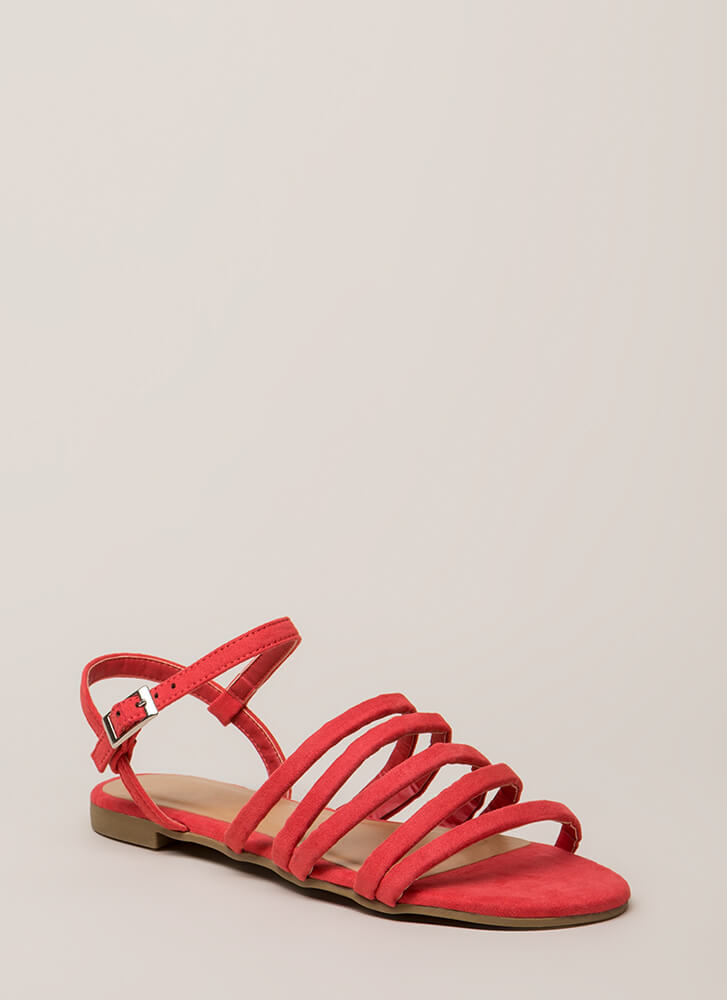 The Pursuit Of Strappy Ness Sandals by Go Jane