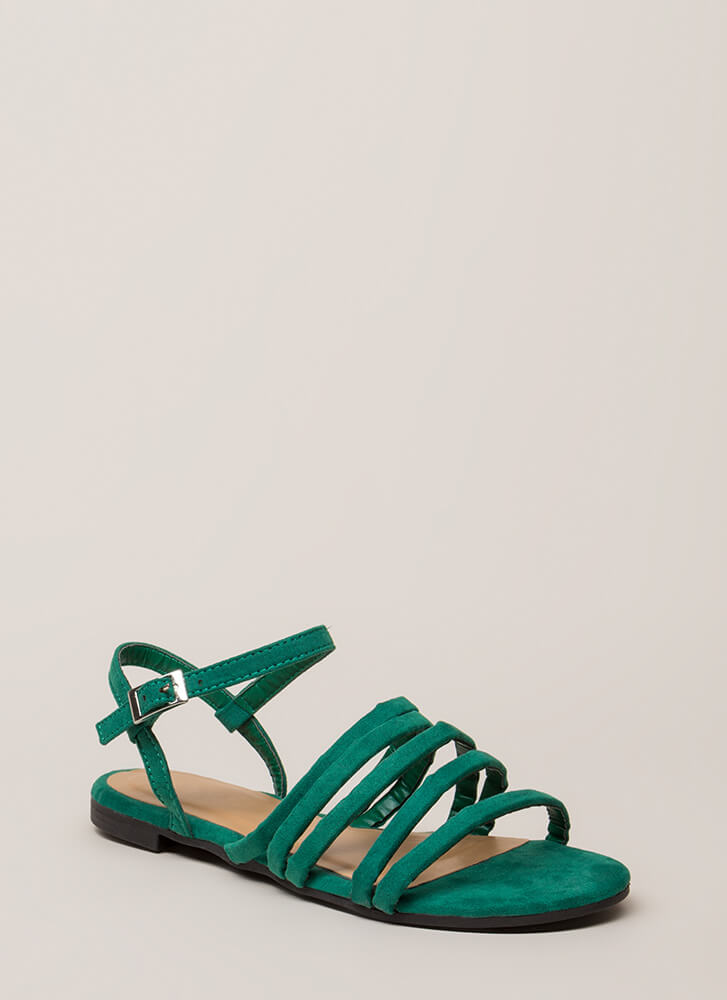 The Pursuit Of Strappy-ness Sandals GREEN