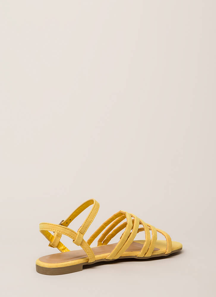 The Pursuit Of Strappy-ness Sandals YELLOW