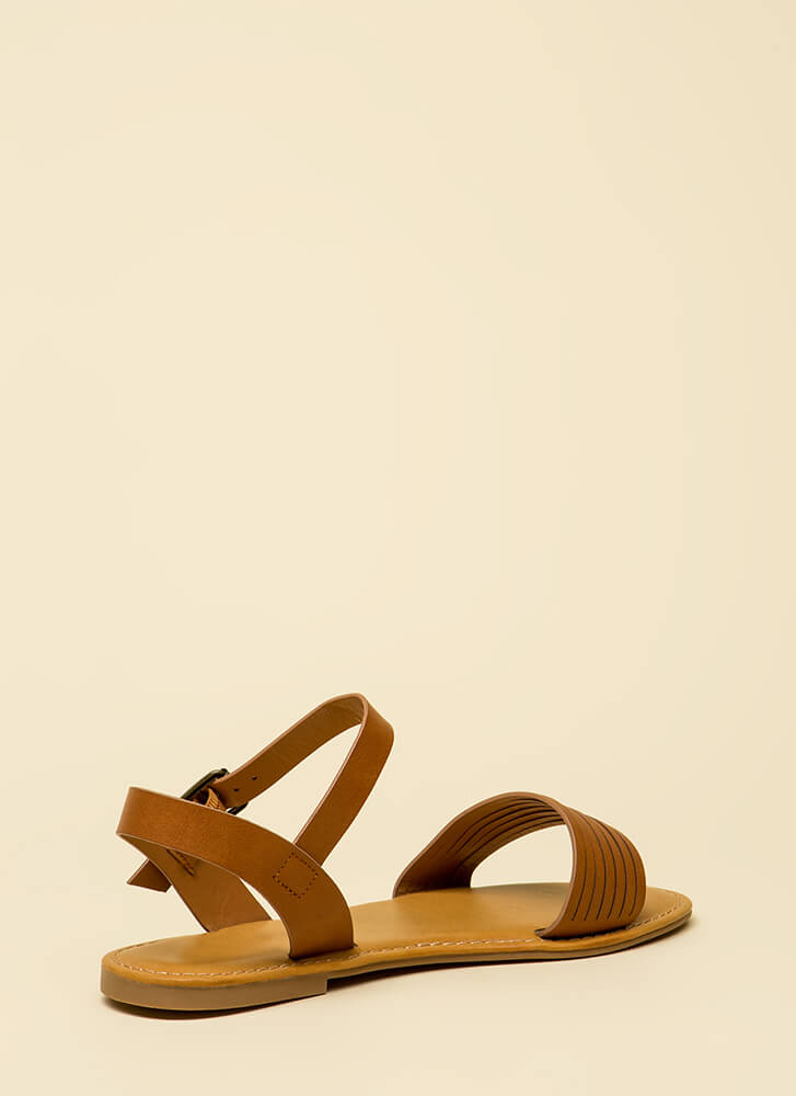 Slits For The Best Strappy Sandals TAN