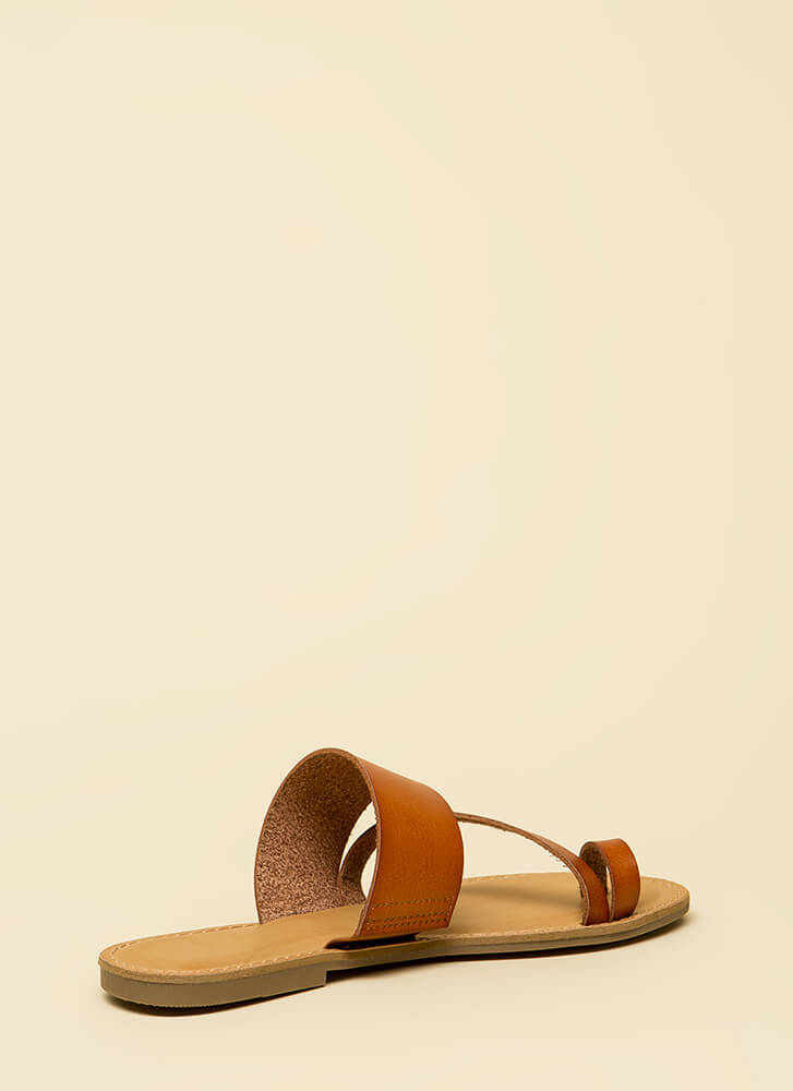 Good Connection Strappy Sandals TAN