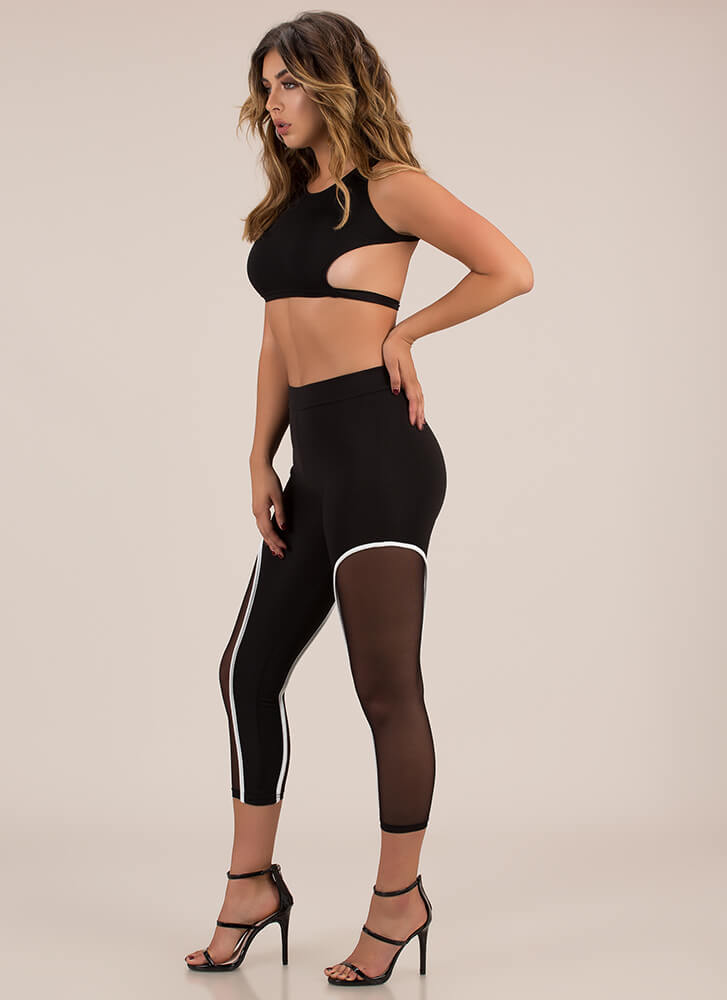 You Better Work 2-Piece Athleisure Set BLACK