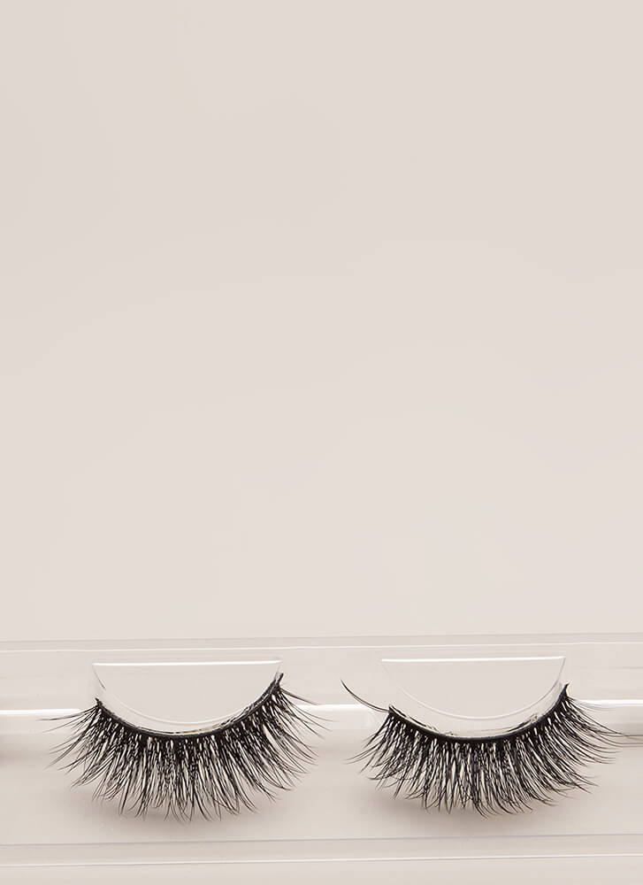 On The Double Stacked False Eyelashes BLACK