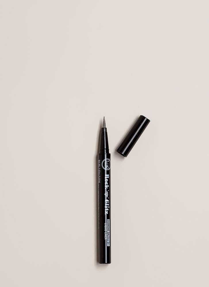 Glitz And Glam Shimmery Liquid Eyeliner SILVER (You Saved $5)