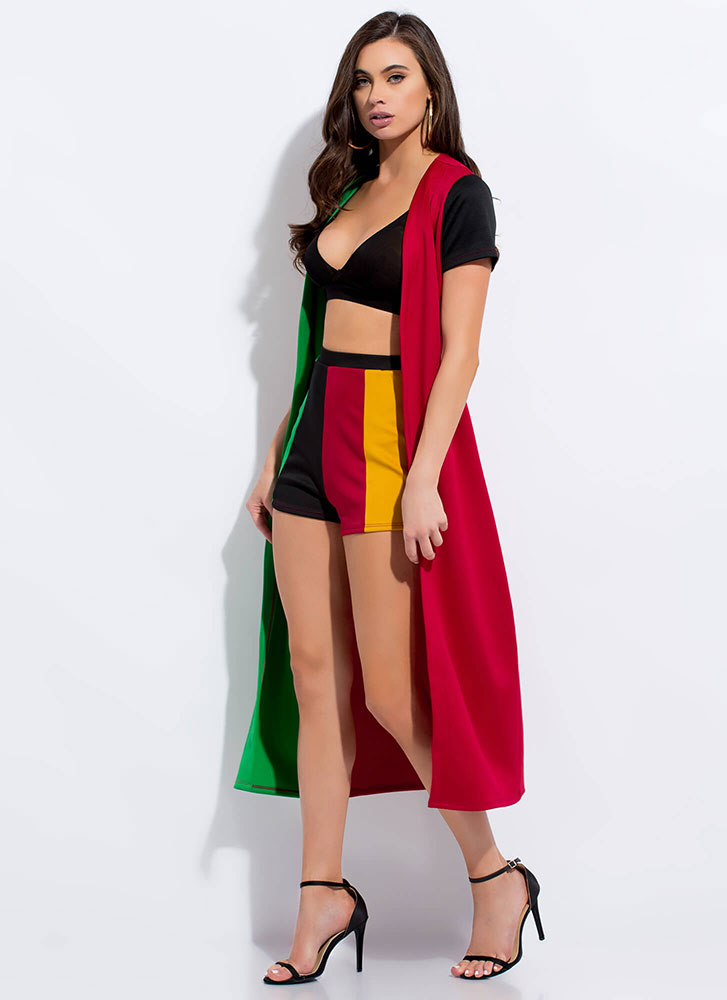 Fun And Games Colorblock 2-Piece Set MULTI (You Saved $22)