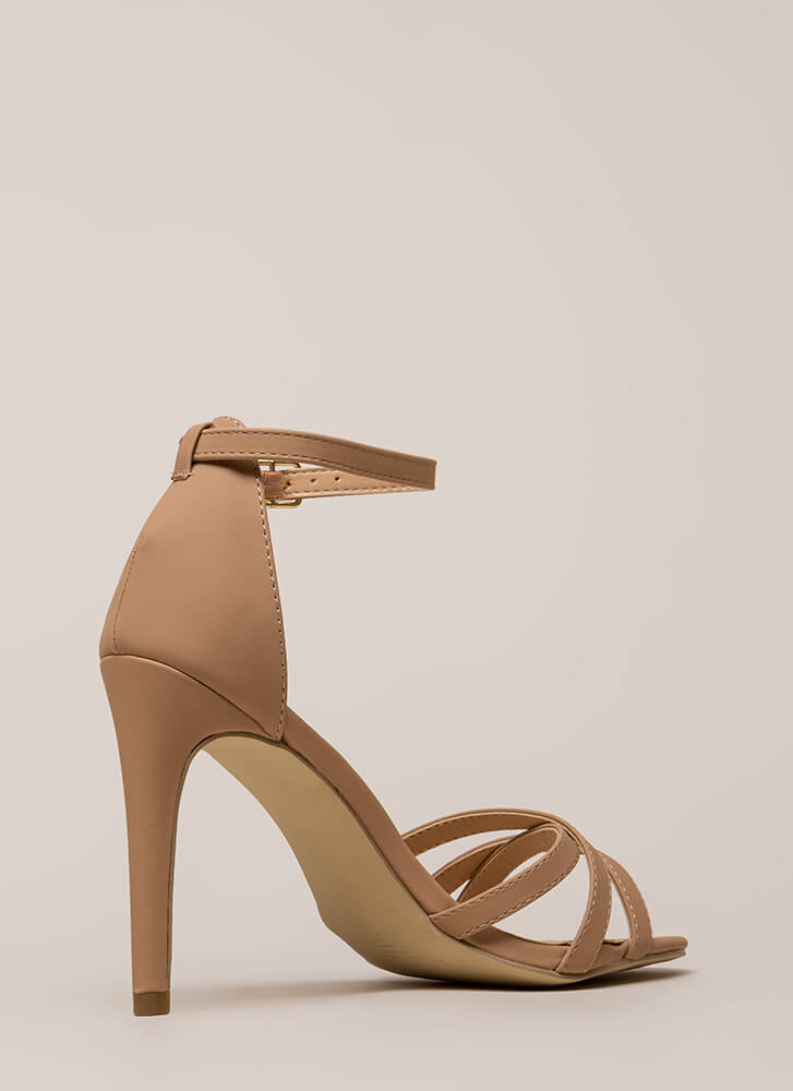 Strappy Ankle Strap Heels