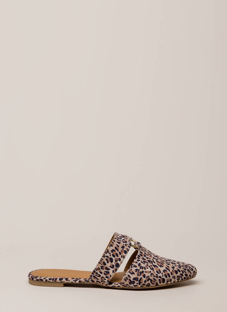 Ring In The New Leopard Mule Flats CAMELLEOPARD