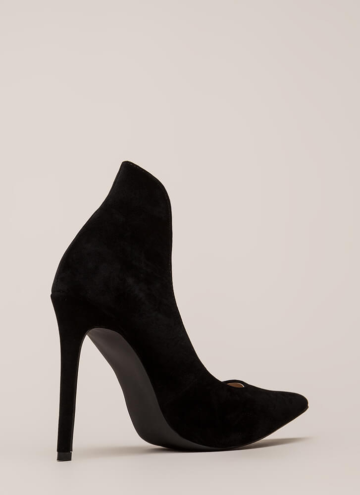 Different League Pointy Stiletto Pumps BLACK