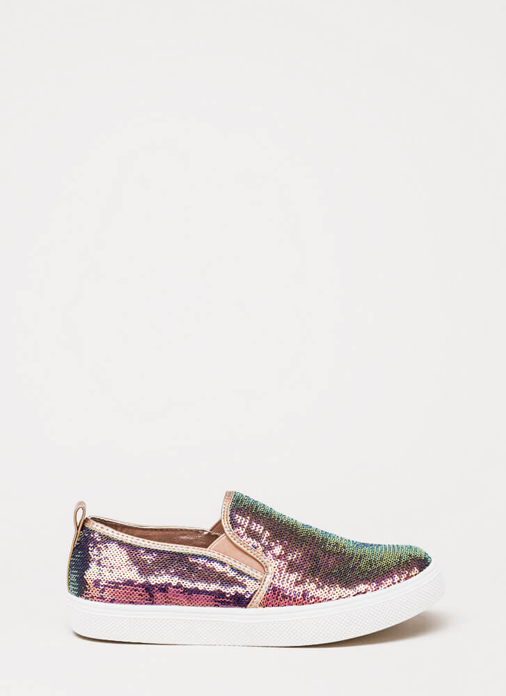 Staying In Sequins Slip-On Sneakers MULTI