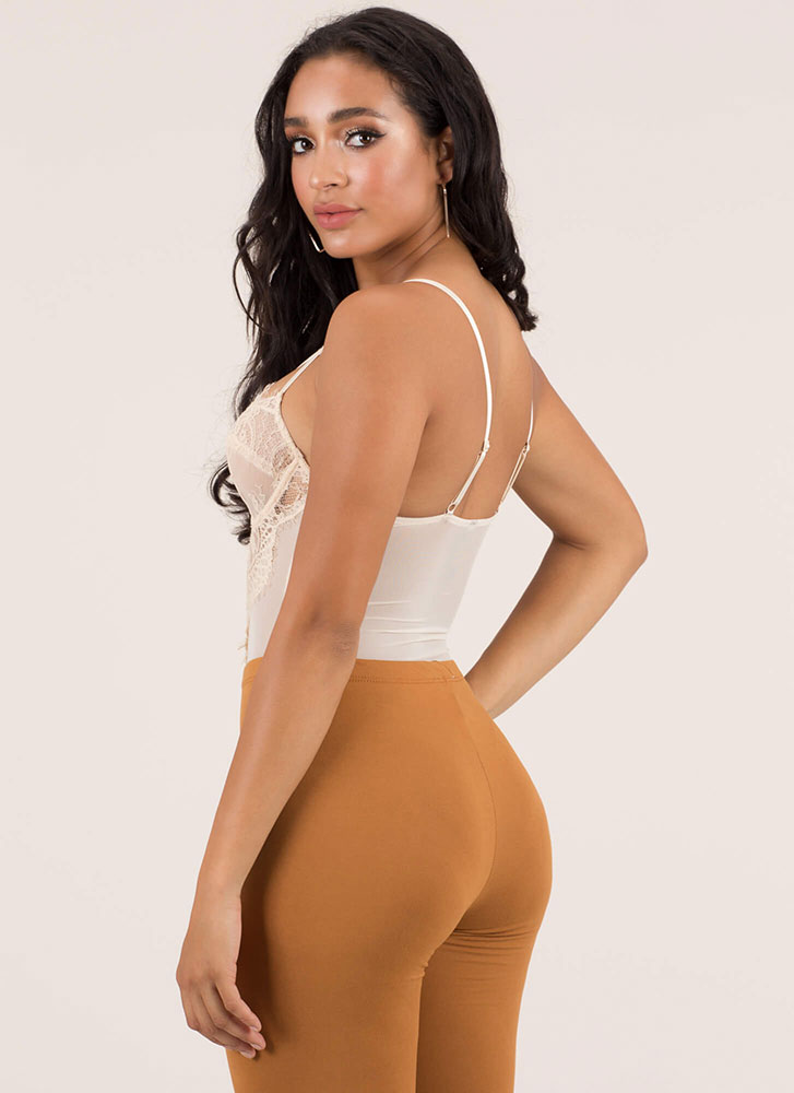 ... Hot Nights Strappy Lace Bodysuit CREAM (Final Sale) ... eef283a66
