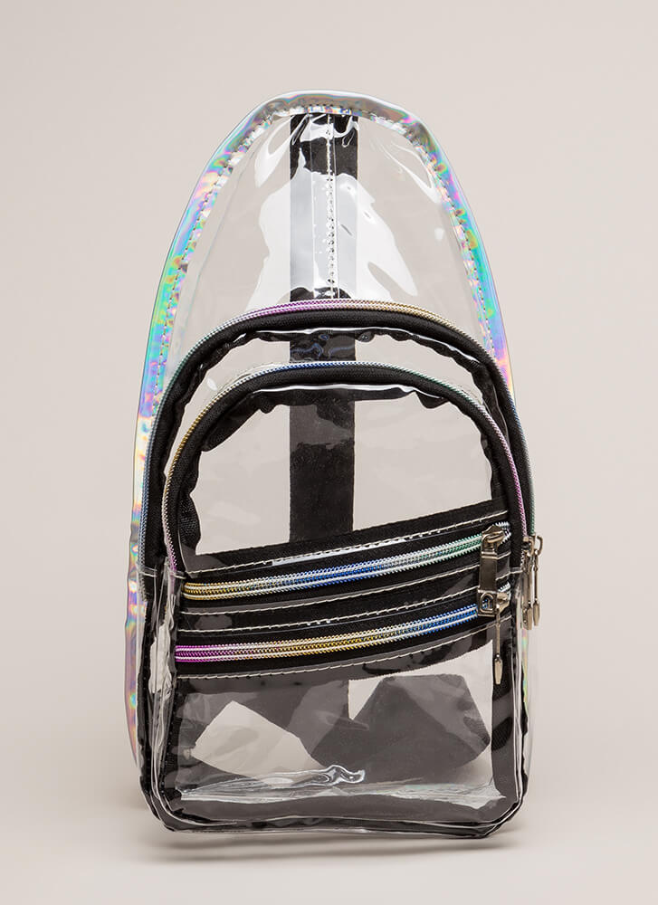 Your Future Is Clear PVC Backpack CLEAR (You Saved $20)