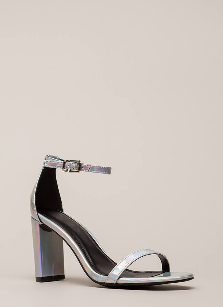 What's The Skinny On Holographic Heels MULTI (You Saved $18)