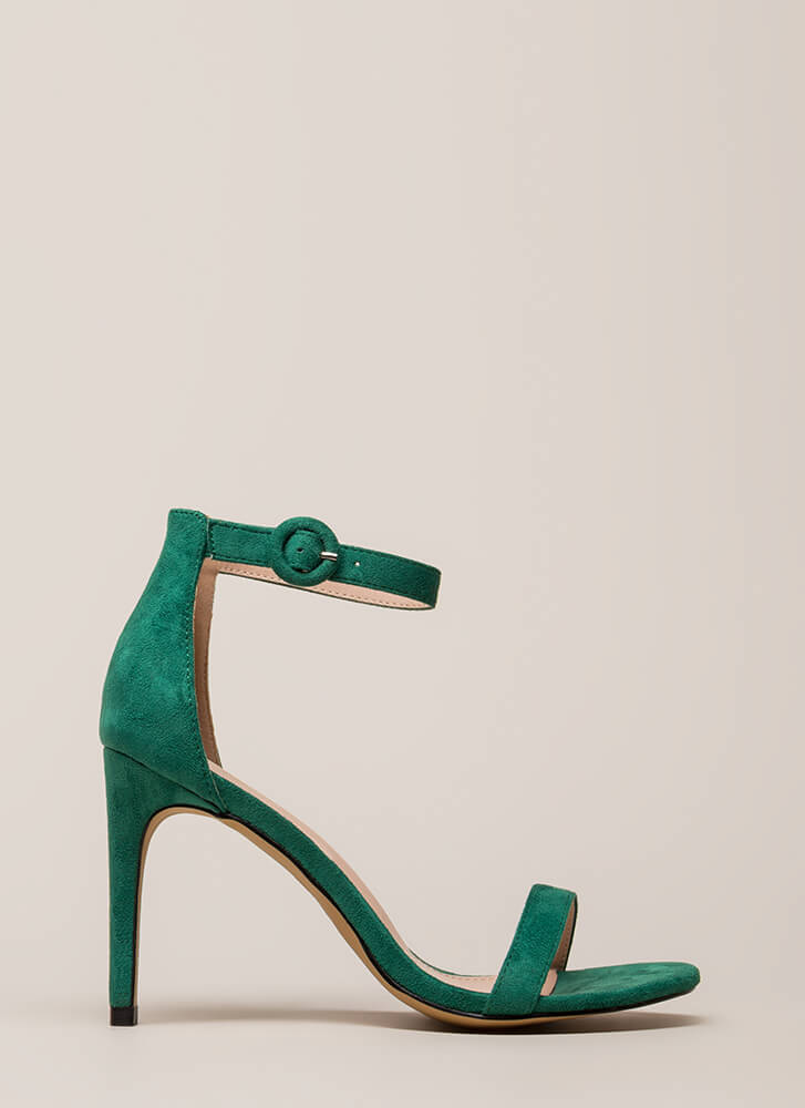 Always And Forever Ankle Strap Heels JADE