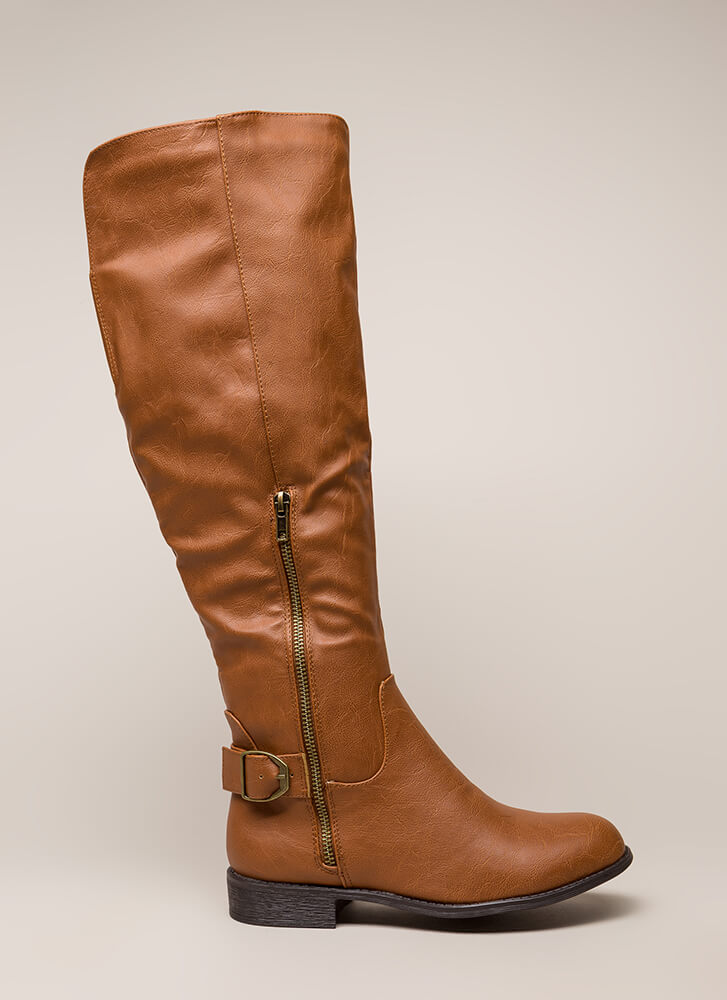 Save A Horse Knee-High Riding Boots WHISKY