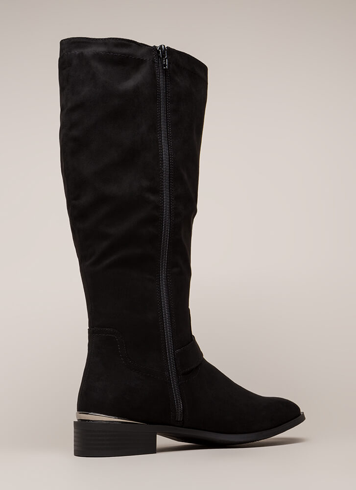 Trot Topic Knee-High Riding Boots BLACK (You Saved $22)