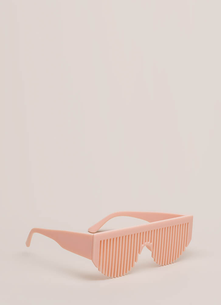 Comb Sweet Comb Shutter Glasses PINK (You Saved $5)